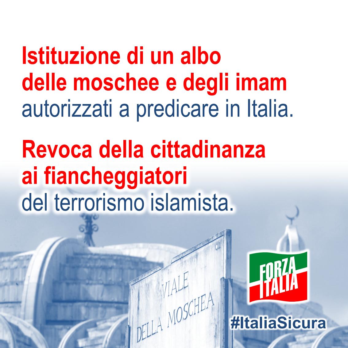 Forza italia security days for Deputati di forza italia