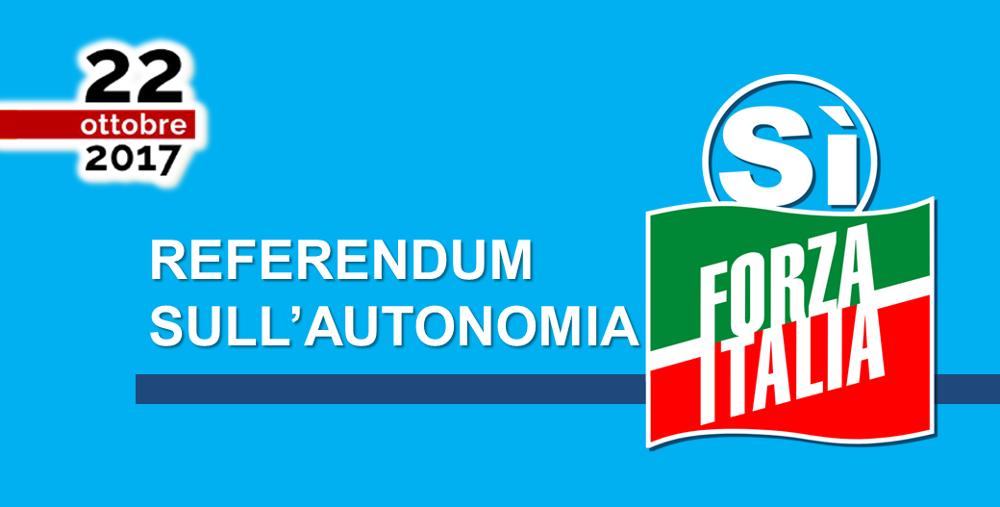 Forza italia referendum sull 39 autonomia per la lombardia for Forza italia deputati